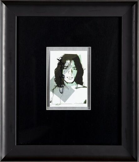 Andy Warhol, 'Andy Warhol  Andy Warhol Mick Jagger FS.II.138 Hand Signed Gallery Announcement Invitation', 1970-2000