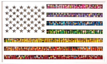 Valérie Carmet, 'America: Let's Play Over The Rainbow', 2018