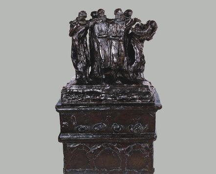 Auguste Rodin, 'Monumento a los Burgueses de Calais. Primera maqueta | Monument to The Burghers of Calais. First Maquette ', ca. 1884