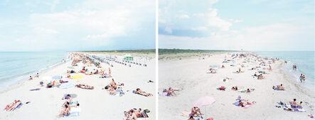 Massimo Vitali, 'Vecchiano South and Vecchiano North (Diptych)', ca. 2002