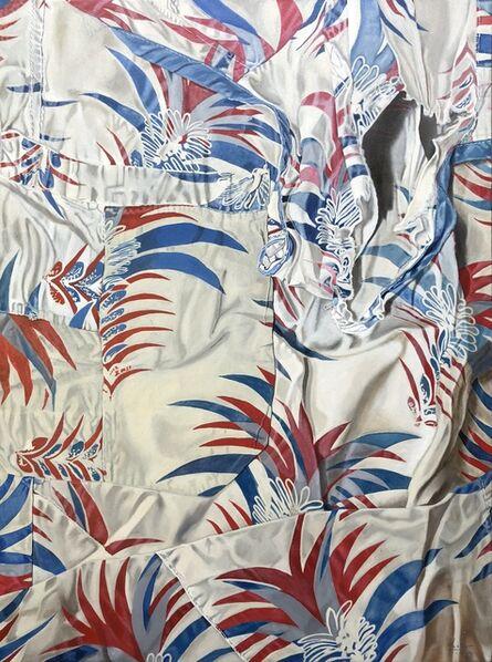 Marina Cruz, 'Finding the pocket among the pineapple leaves', 2018