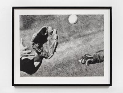 John Baldessari, 'Hands & Feet: Hands, Baseball & Glove', 2017