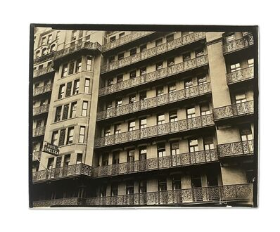 Berenice Abbott, 'Chelsea Hotel, West 23rd Street Between 7th and 8th Avenues, Manhattan', 1936