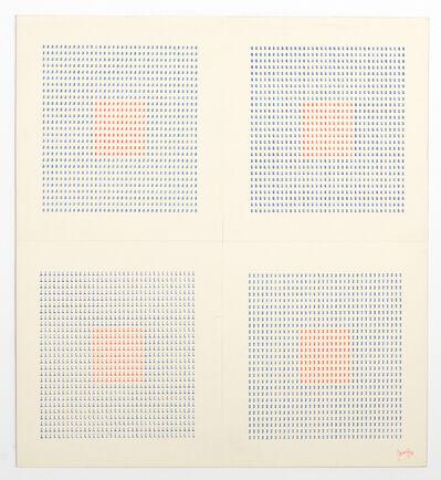 Tomaso Binga, 'Dattilocodice (Typecode) #7', 1978