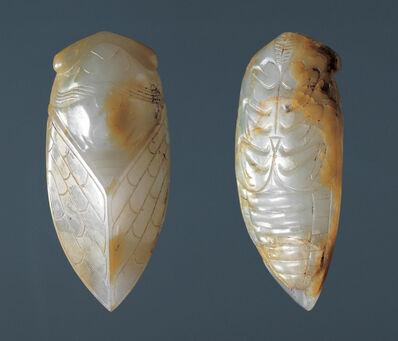 Unknown Artist, 'Cicada-shaped pei ornament '