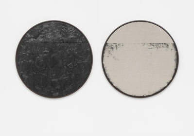 "Davide Balula, 'Burnt Painting, Imprint of the Burnt Painting (C45OSB, 14""TOPSLIT)', 2015"