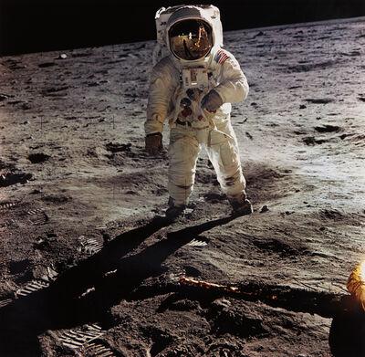 NASA, 'Astronaut Edwin E. Aldrin Jr. Walks on the Surface of the Moon, Apollo 11, July 16-24', 1969-printed later