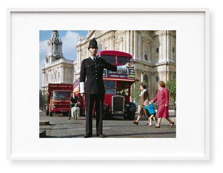 Paul Smith, 'London. Portrait of a City, Paul Smith Edition 'Traffic Policeman', Signed Fine Art Print, Colour', 1960s