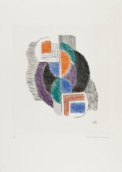 Sonia Delaunay, 'Terk. Composition', 1964