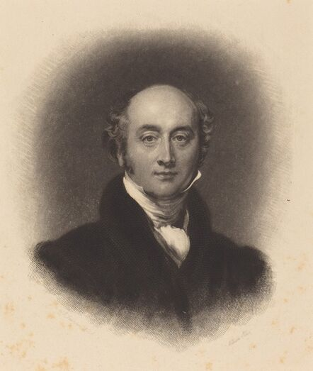 William Giller after Sir Thomas Lawrence, 'Sir Thomas Lawrence'