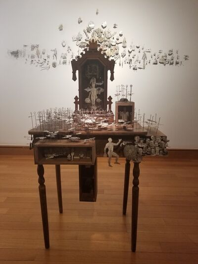 Edgar Endress, 'Cartographies of Extractions installation', 2019