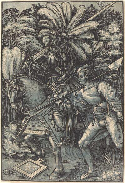 Hans Wechtlin I, 'Knight and the Servant'