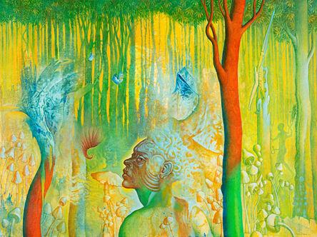 Rafael Trelles, 'El señor de los hongos (Lord of the Mushrooms)', 2020