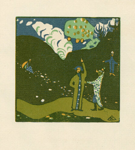 Wassily Kandinsky, 'Apfelbaum', 1911