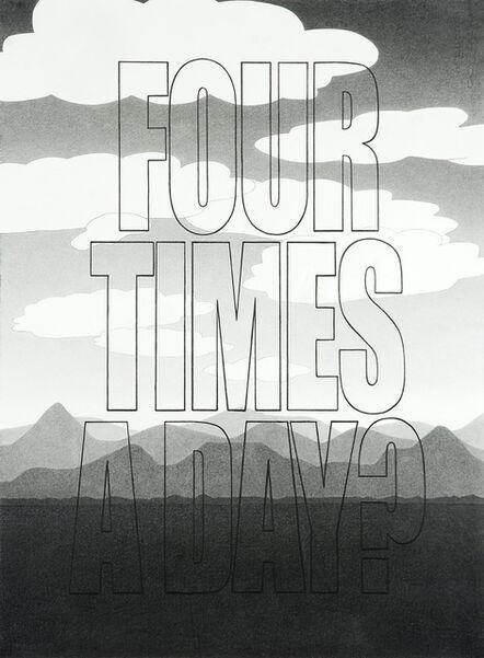 "Karl Haendel, '""Four Times a Day"" ', 2011"