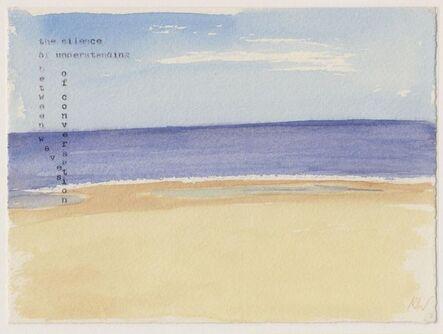Kathryn & R.D.Wakeman, 'sand sea silence', 2017