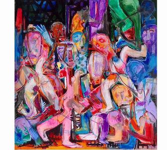 Shan Gang, 'Dancing', 2019