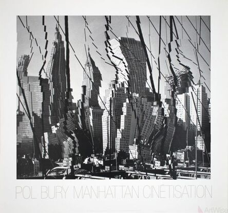 Pol Bury, 'Manhattan Cinetisation (1964)', 1986