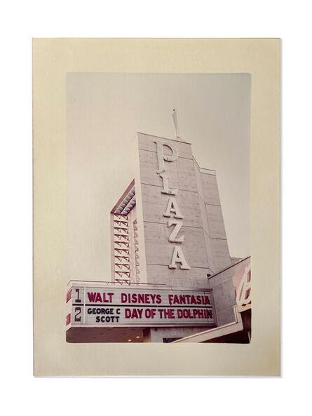 William Eggleston, 'Plaza Theater Marquee, Memphis', 1985