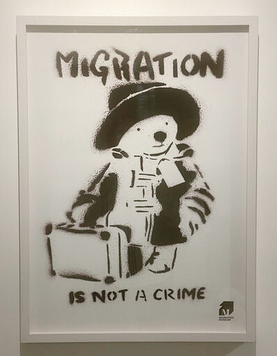 Banksy, 'Migration Museum - Paddington Bear', 2020