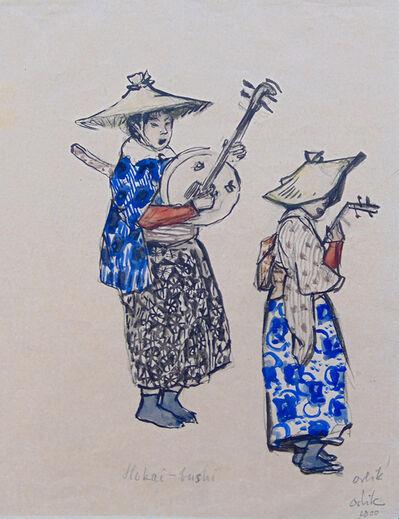 Emil Orlik, 'Hokai-bushi', 1900