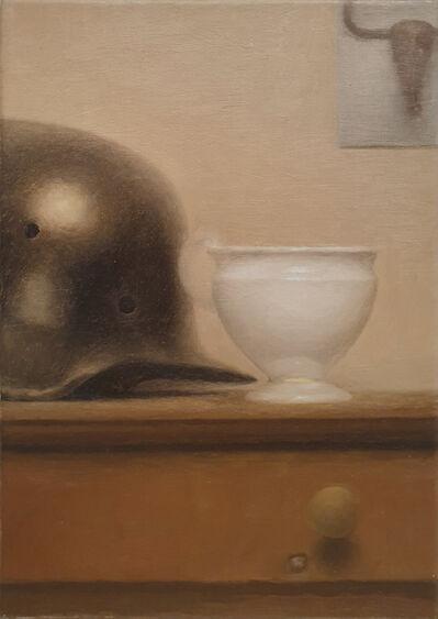 Stefan Höller, 'Helmet with cup', 2006