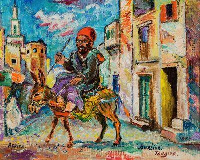 David Burliuk, 'Tangier', 1954