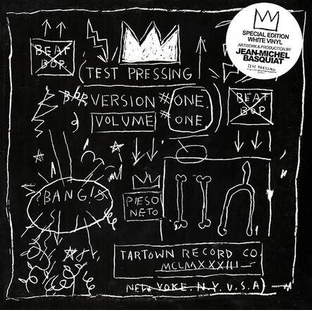 Jean-Michel Basquiat, 'Basquiat Beat Bop Vinyl Record Art', ca. 2001