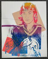 Andy Warhol, 'Wayne Gretzky (Unique TP)', 1984