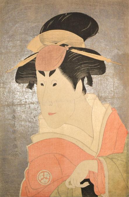 Toshusai Sharaku, 'Kabuki Actor Osagawa Tsuneyo II as Osan', ca. 1794