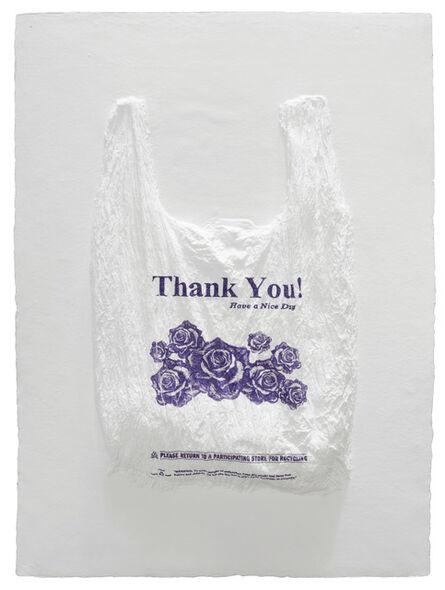 Analía Saban, 'Thank You! Have a Nice Day Plastic Bag', 2016