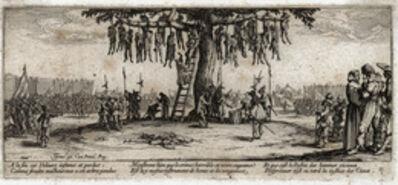 Jacques Callot, 'The hanged (No.11) from the series Les Miseres et les Malheurs de la Guerre (The Miseries of War)', 1633