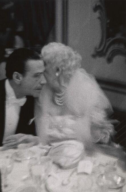 Diane Arbus, 'Elderly woman whispering to her dinner partner, Grand Opera Ball, N.Y.C.', 1959