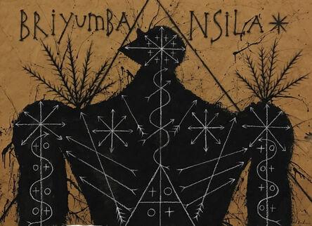 José Bedia, 'Briyumba Nsila', 2017