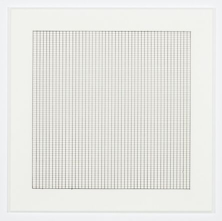 Agnes Martin, 'Untitled (8)', 1991