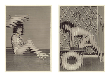 Kensuke Koike, 'Indirect Approach, First & Second Attempt (diptych)', 2013