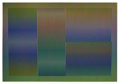 Carlos Cruz-Diez, 'Color Aditivo Cantarrana 3', 2016