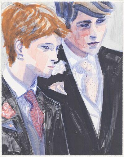 Elizabeth Peyton, 'Prince William and Harry', 2000