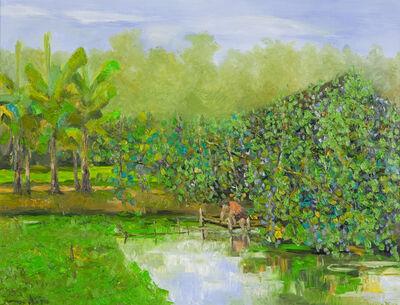 Ngo Duc Lam, 'Water Fern Pond', 2007