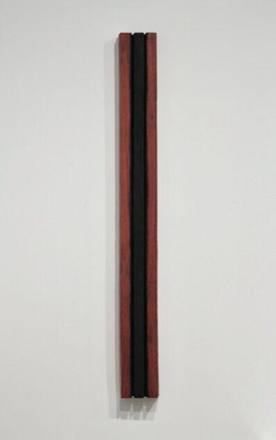 David Nash, 'Black Through Red', 2014