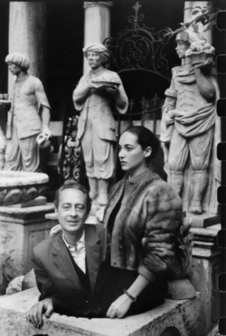 Henri Cartier-Bresson, 'Bona De Mandiargues', printed later