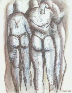Eric Cadien, 'Standing Figures', 1983