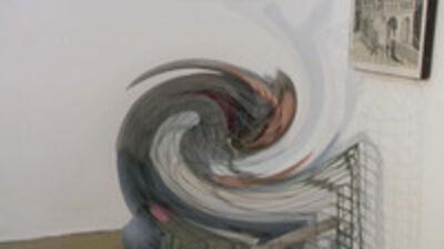 Doron Golan, 'Figure and Birdcage', 2009
