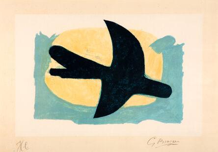 Georges Braque, 'Oiseau bleu et jaune', 1960