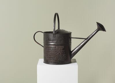 Ian Hamilton Finlay, 'Watering Can (Shenstone)', 1995