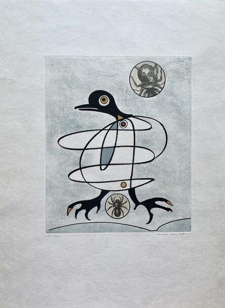 Max Ernst, 'Tous les couloirs du soir lilas', 1975