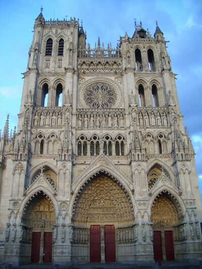 'Amiens Cathedral', 13th -15th century