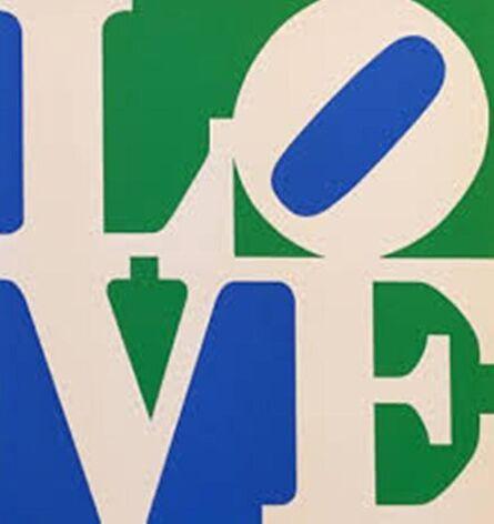 Robert Indiana, 'LOVE (White Green Blue)', 1996