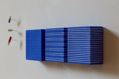 Lorenzo Taini, 'Blue Theory Triptych ', 2013
