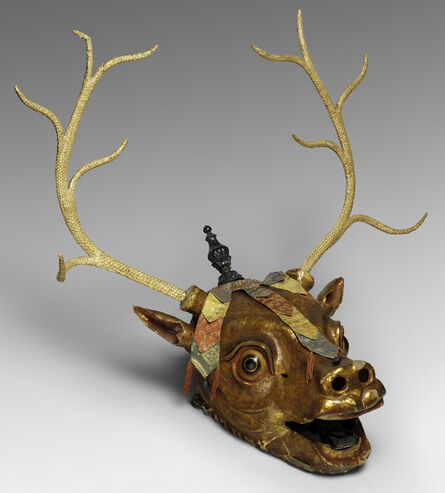 'Stag Mask', Late 19th–early 20th century